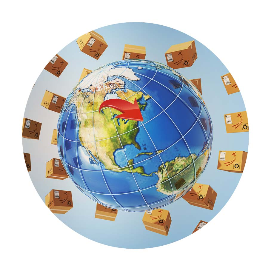 International Shipping from Canada by National Logistics Services