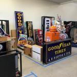 Sample of Items Shipped from Barrett-Jackson Auto Auction